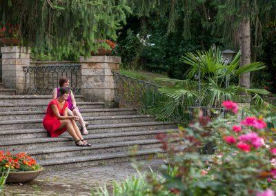 Le scale del parco