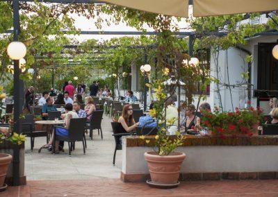 Terrasse Hôtel garden