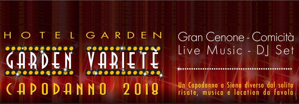 Cenone Capodanno 2018 Hotel Garden Siena