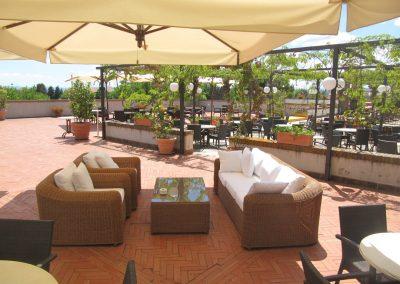 Divanetti terrazza bar