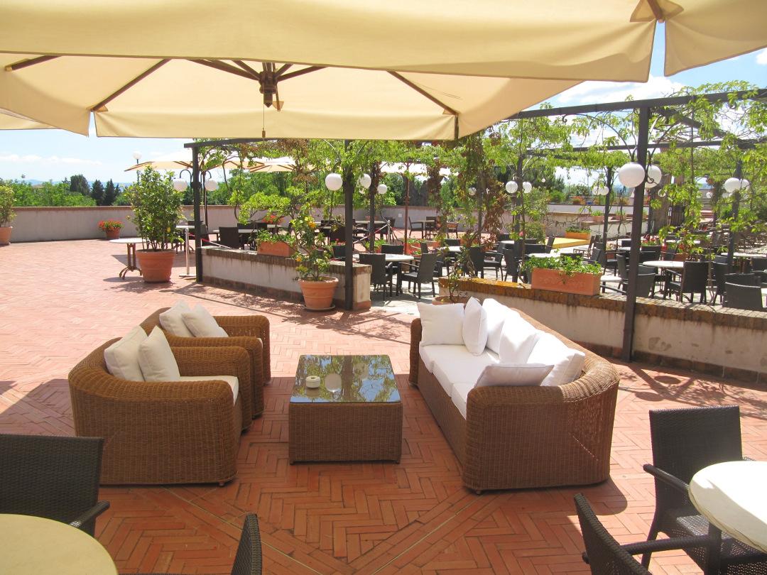 Bancos terraza bar