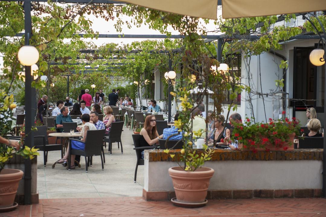 Bar no terraço