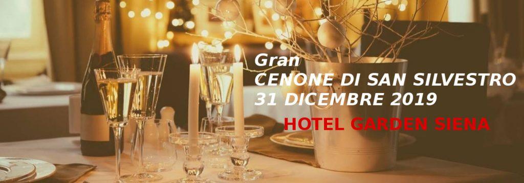 Menu Cenone San Silvestro 2019 Hotel Garden Siena Toscana