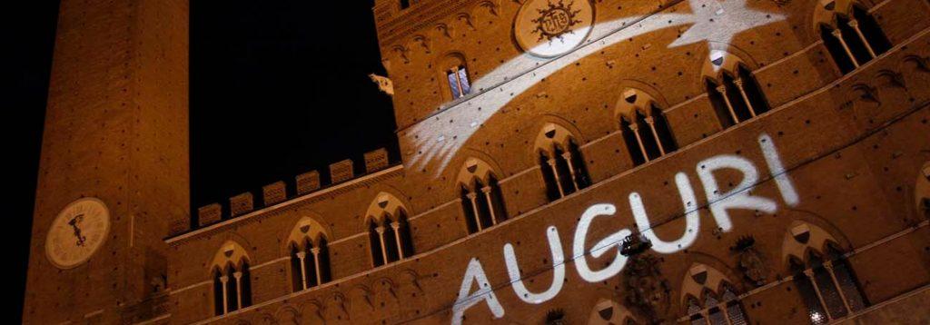 Piazza del Campo Siena Auguri